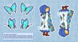 Holly Hobbie  Doll / butterflies