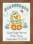 Counted Cross Stitch, Our Baby Boy By Karen Harran Save £3.00