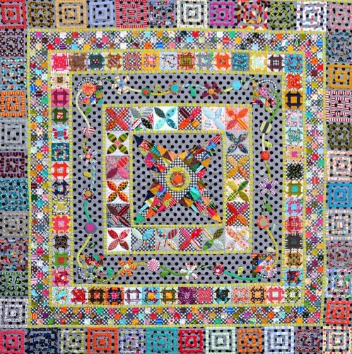 Midnight at the Oasis Pattern by Jen Kingwell