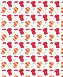 Goal Red Shirts from Fabric Freedom