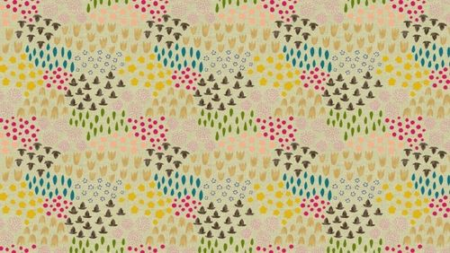 Folk Floral by Sarah Golden for Andover Fabrics
