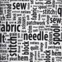 Sew and Tell Words