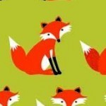 Forest Friends, Foxes on green