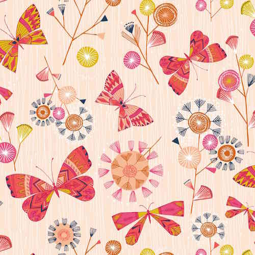 Natures Trail - Butterflies - Pink