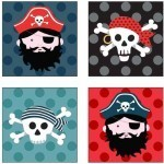 Pirates Labels from Makower
