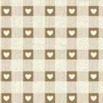 Scandi Hessian Check.Makower UK