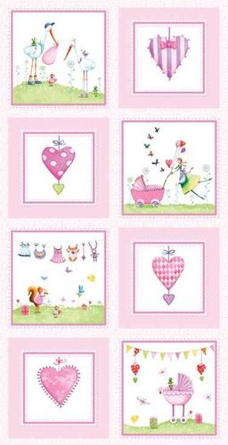 A bundle of Pink by Mila Marguis for Red Rooster Fabrics