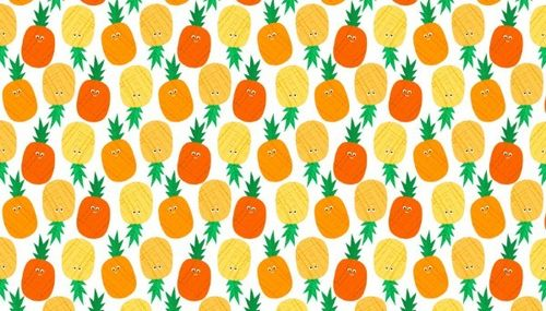 Fruity Friends, Pineapples from Makower UK
