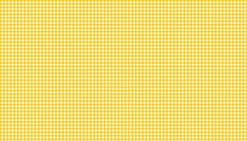 New Gingham Yellow on White from Makower UK