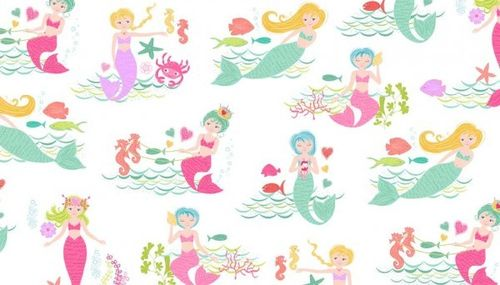 Merryn Scenic Mermaids from Makower