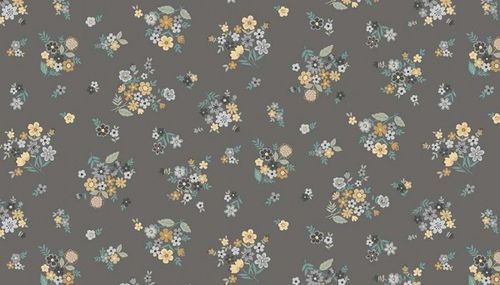 Bloom Bouquet Grey from Makower UK
