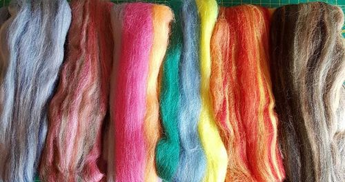 Merino Wool Mixed Variegated Tops