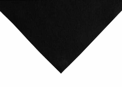 Black felt wool/viscose squares