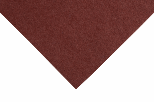 Brown felt wool/viscose squares