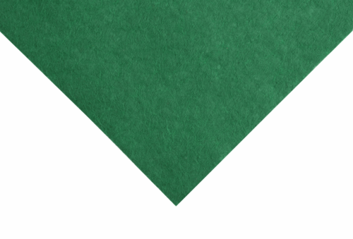 Ver. Green felt wool/viscose square