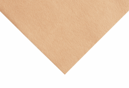 Honey felt wool/viscose square