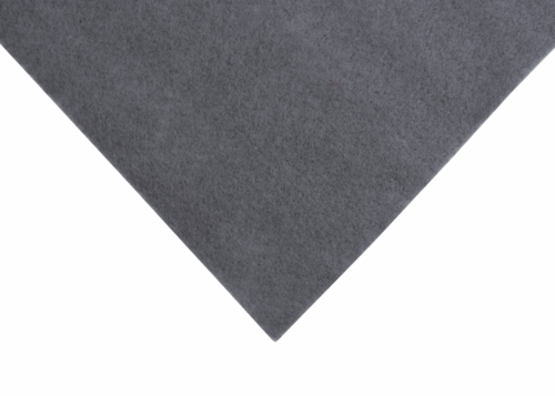 Grey felt wool/viscose squares