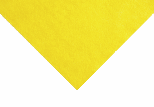 Yellow felt wool/viscose squares
