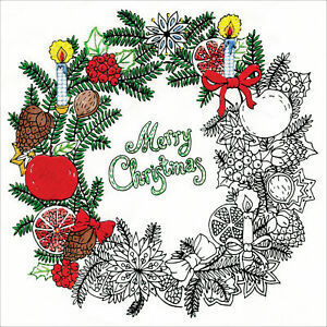 Zenbroidery Christmas Wreath