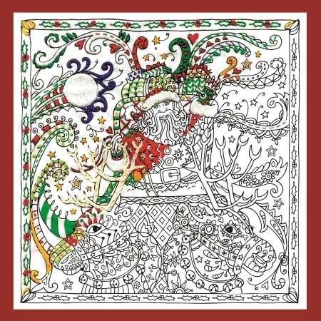Zenbroidery Santa and Sleigh Kit