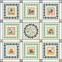 MK_Crafty_cats_quilt_front